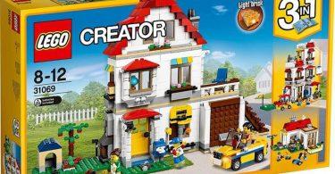 Lego 31068 casa moderna carpe diem passions for Casa moderna lego