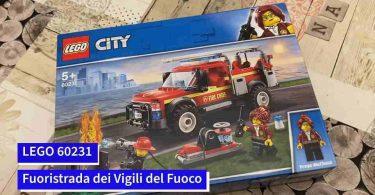 LEGO 60231 - Fuoristrada dei Vigili del Fuoco