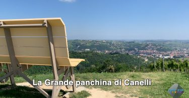 La grande panchina a Canelli